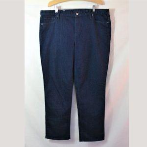 Gap 1969 Straight Leg Mid Rise Jeans Size 34